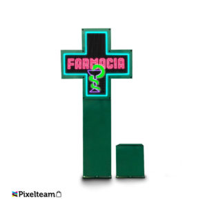 Cruz de farmacia full color P8S. exterior 840*840mm…