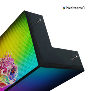 Pantalla led esquina full color P5 Exterior