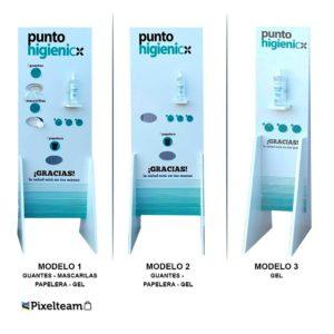 Punto Higiénico 3 modelos